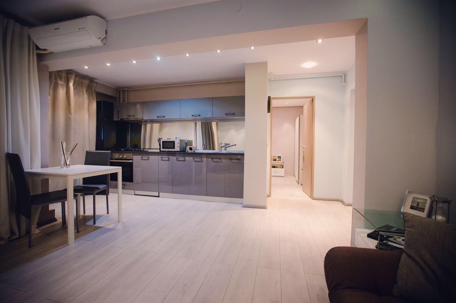 Apartament de vanzare cu doua camere aproape de Faleza Dunarii, mobilat lux